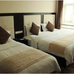 Joyfulstar Hotel Pudong Airport Chenyang 2* Стандартный семейный номер с двуспальной кроватью фото 2