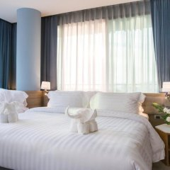 Отель BlueSotel Krabi Ao Nang Beach 4* Семейный номер Делюкс с различными типами кроватей фото 5