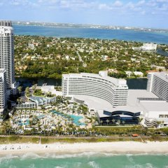 Отель Fontainebleau Miami Beach 4* Стандартный номер с различными типами кроватей фото 9