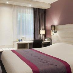 Отель Kyriad Lille Est Villeneuve d'Ascq 3* Стандартный номер с двуспальной кроватью фото 2