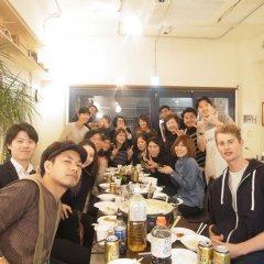 Hostel & Coffee Shop Zabutton Токио питание фото 2