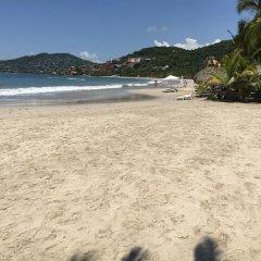 Отель Villa Soleil пляж