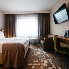 Q Hotel Plus Wroclaw 4* Стандартный номер с двуспальной кроватью фото 2