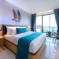 Отель Deep Blue Z10 Pattaya Стандартный номер с различными типами кроватей фото 9