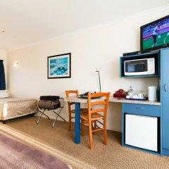 Отель elliotts kapiti coast motor lodge 3* Студия с различными типами кроватей фото 2
