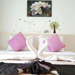 Phuthara Hostel Номер Делюкс с различными типами кроватей фото 7