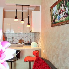 Отель Qeroli Appartment in the center in Avlabari Апартаменты с различными типами кроватей фото 5