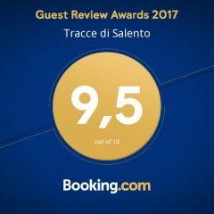 Отель Tracce di Salento Лечче спортивное сооружение