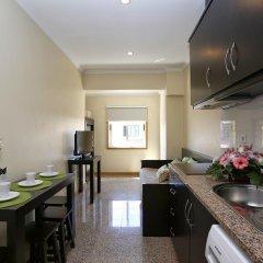 Hotel do Norte 2* Семейная студия с двуспальной кроватью фото 2