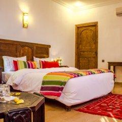 Отель La Perle du Sud Марокко, Уарзазат - отзывы, цены и фото номеров - забронировать отель La Perle du Sud онлайн комната для гостей фото 3
