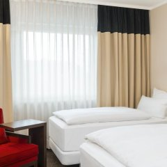 Hotel NH Düsseldorf City Nord 4* Стандартный номер разные типы кроватей фото 18