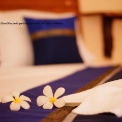 Отель Kantiang Guest House 2* Семейный номер Делюкс с двуспальной кроватью