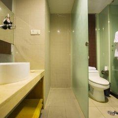 Отель Motel 268 Shanghai Ledu Road ванная
