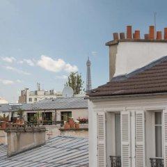 Отель Chambres d'hotes La Maison Hippolyte балкон
