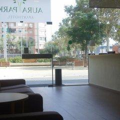 Отель Aura Park Fira Barcelona Апартаменты Премиум с различными типами кроватей фото 20