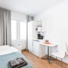 Отель Forenom Aparthotel Helsinki Herttoniemi Стандартный номер с различными типами кроватей фото 22
