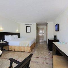 Отель Krystal Cancun Мексика, Канкун - 2 отзыва об отеле, цены и фото номеров - забронировать отель Krystal Cancun онлайн комната для гостей фото 6