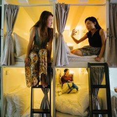 Matchbox The Concept Hostel Кровать в общем номере с двухъярусной кроватью фото 12