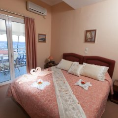 Отель Acqua Marina Nautilus Греция, Эгина - отзывы, цены и фото номеров - забронировать отель Acqua Marina Nautilus онлайн комната для гостей фото 3