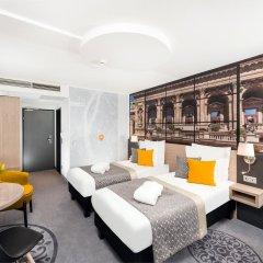 Отель Mercure Budapest City Center 4* Улучшенный номер с различными типами кроватей фото 4