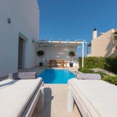 Отель Santorini Secret Suites & Spa 5* Вилла Junior с различными типами кроватей фото 20