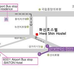 Dongdaemun Hwasin Hostel городской автобус
