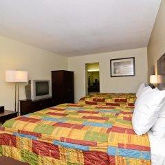 Отель Rodeway Inn Convention Center 2* Стандартный номер с 2 отдельными кроватями фото 4