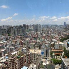 Отель Home Fond Hotel Nanshan Китай, Шэньчжэнь - отзывы, цены и фото номеров - забронировать отель Home Fond Hotel Nanshan онлайн балкон