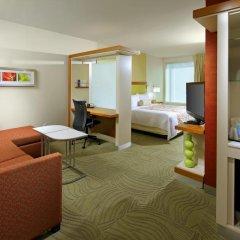 Отель SpringHill Suites by Marriott Columbus OSU 3* Студия с различными типами кроватей фото 5