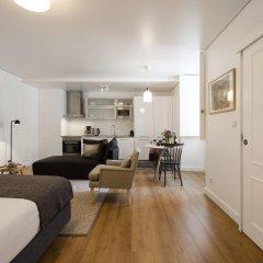Апартаменты Lisbon Serviced Apartments Baixa Castelo Студия с различными типами кроватей