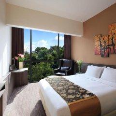 Отель Travelodge Harbourfront Singapore 4* Номер Делюкс с различными типами кроватей фото 10