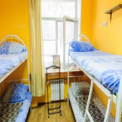 Гостиница Yourhostel Svyatoshino Кровать в общем номере с двухъярусной кроватью фото 17