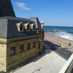 Отель Pension Itxasoa Испания, Сан-Себастьян - отзывы, цены и фото номеров - забронировать отель Pension Itxasoa онлайн пляж фото 2