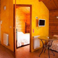Отель Fuente del Lobo Bungalows - Adults Only 3* Улучшенное бунгало с различными типами кроватей фото 4