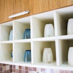 Апартаменты Feyza Apartments Студия Делюкс с различными типами кроватей фото 14
