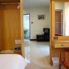Отель Ratchadamnoen Residence 3* Улучшенные апартаменты с различными типами кроватей фото 10