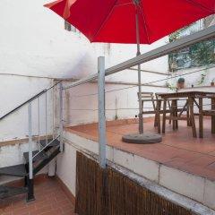Отель Flateli Jaume Fabra Испания, Барселона - отзывы, цены и фото номеров - забронировать отель Flateli Jaume Fabra онлайн балкон