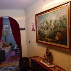 Отель Hosteria Picos De Europa интерьер отеля