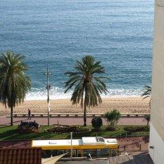Отель Apartaments AR Blavamar San Marcos пляж фото 2
