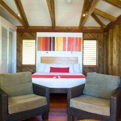 Отель Wananavu Beach Resort 4* Бунгало с различными типами кроватей фото 8