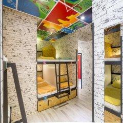 Chillout Hostel Zagreb Кровать в общем номере с двухъярусной кроватью фото 29
