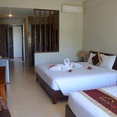 Sunshine Hotel 3* Семейный номер Делюкс с двуспальной кроватью фото 6