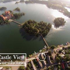 Отель Castle View Guesthouse Литва, Тракай - отзывы, цены и фото номеров - забронировать отель Castle View Guesthouse онлайн приотельная территория