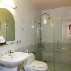 Апартаменты Thao Nguyen Apartment Стандартный номер с различными типами кроватей фото 11