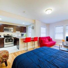 Отель Ginosi Dupont Circle Apartel 3* Студия с различными типами кроватей фото 13
