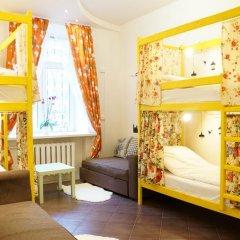 Отель Жилое помещение Скворечник Кровать в общем номере фото 8