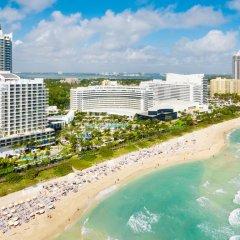 Отель Fontainebleau Miami Beach 4* Номер Делюкс с различными типами кроватей фото 15