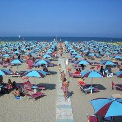 Hotel Bel Sogno пляж
