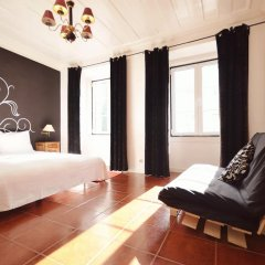 Отель Lisbon Story Guesthouse 3* Стандартный номер с различными типами кроватей (общая ванная комната)