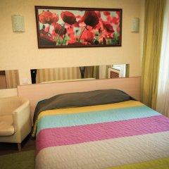 Гостиница Цветы Стандартный номер разные типы кроватей фото 9